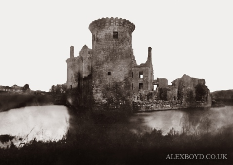 Caerlaverock Castle, January 2012
